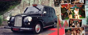 Black London Taxi Cab Photo Booth